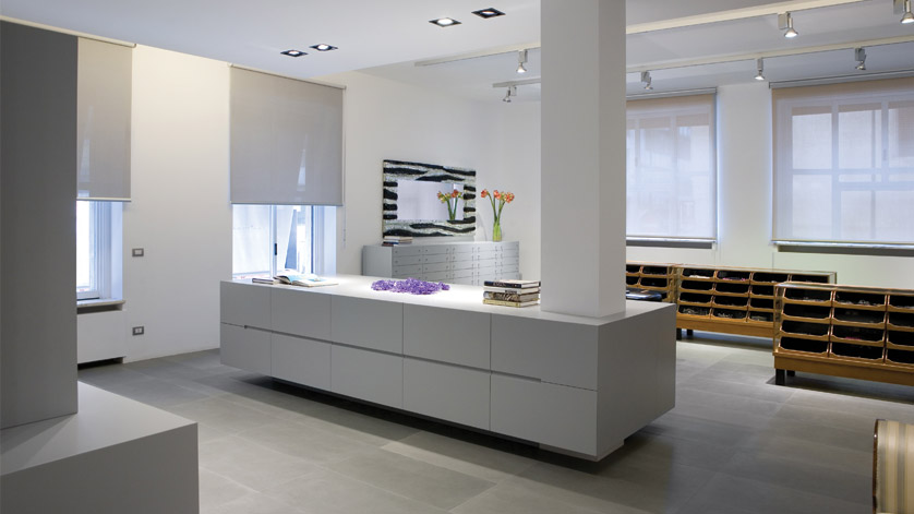 showroom_milano_rossiscola design